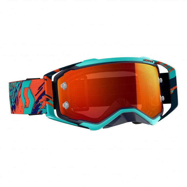 Lunettes cross Scott prospect bleu orange 2019