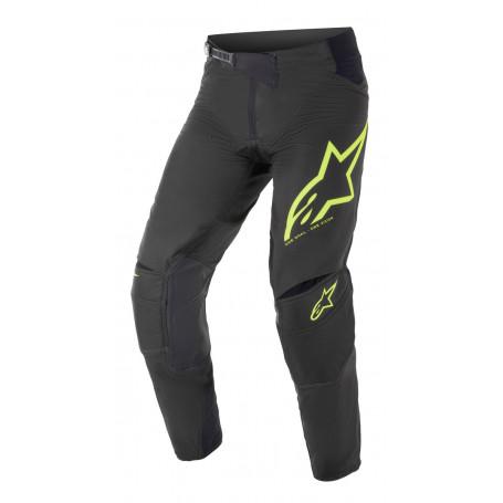 Pantalon cross Alpinestars Techstar noir/jaune fluo/blanc  2021