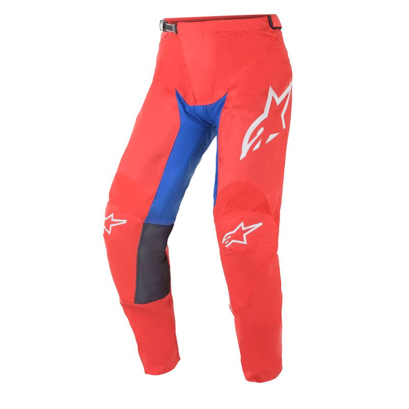 Pantalon cross Alpinestars Racer Supermatic bleu/blanc/rouge  2021