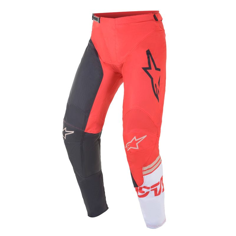 Pantalon cross Alpinestars Racer Compass Rouge/Blanc 2021