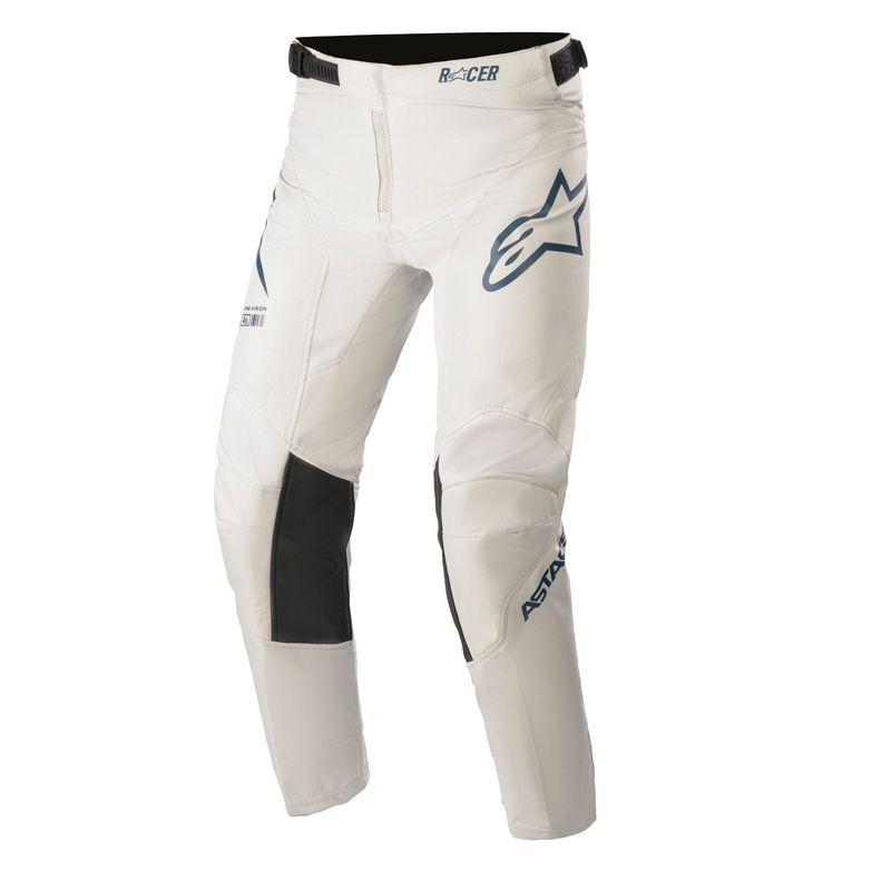 Pantalon cross enfants Alpinestars racer braap orange/gris/bleu nuit  2021