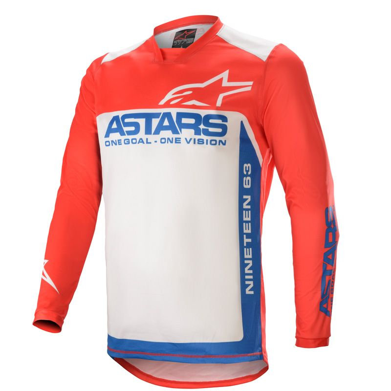 Maillot cross Alpinestars Racer Supermatic  2021