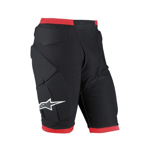Short Alpinestars comp pro Noir Rouge