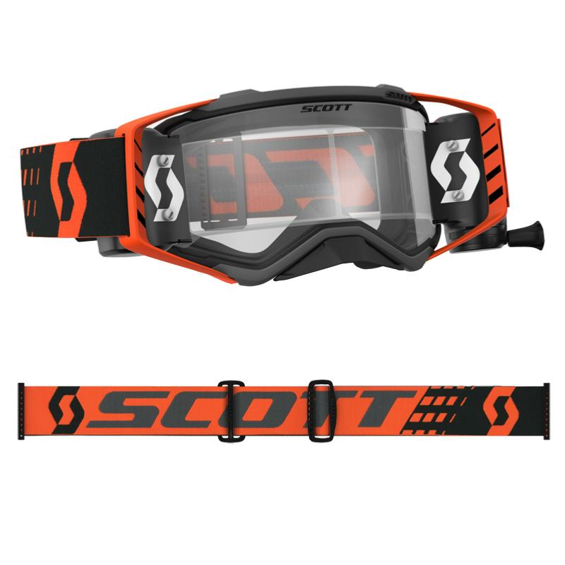 Lunettes ou masque cross Scott PROSPECT WFS NOIR/ORANGE 2018