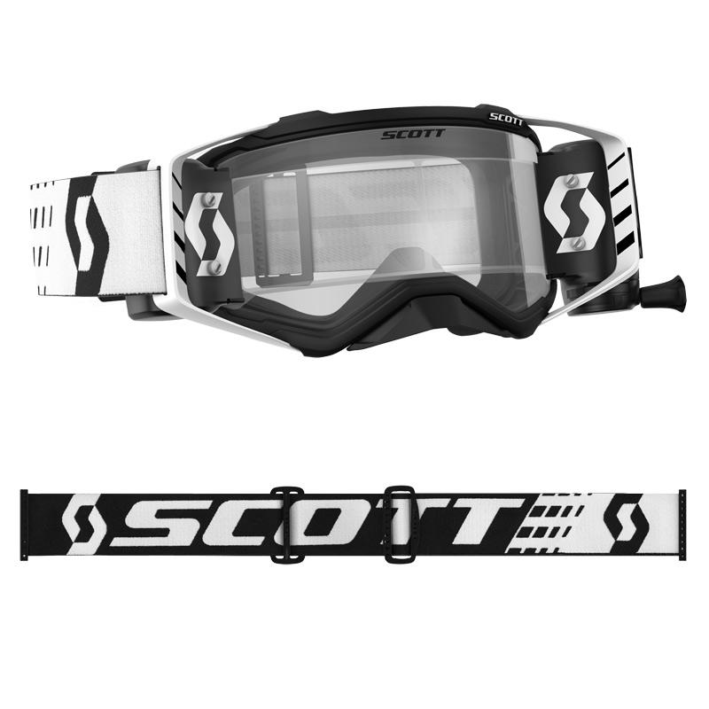 Lunettes ou masque cross Scott PROSPECT WFS Noir/Blanc  2020