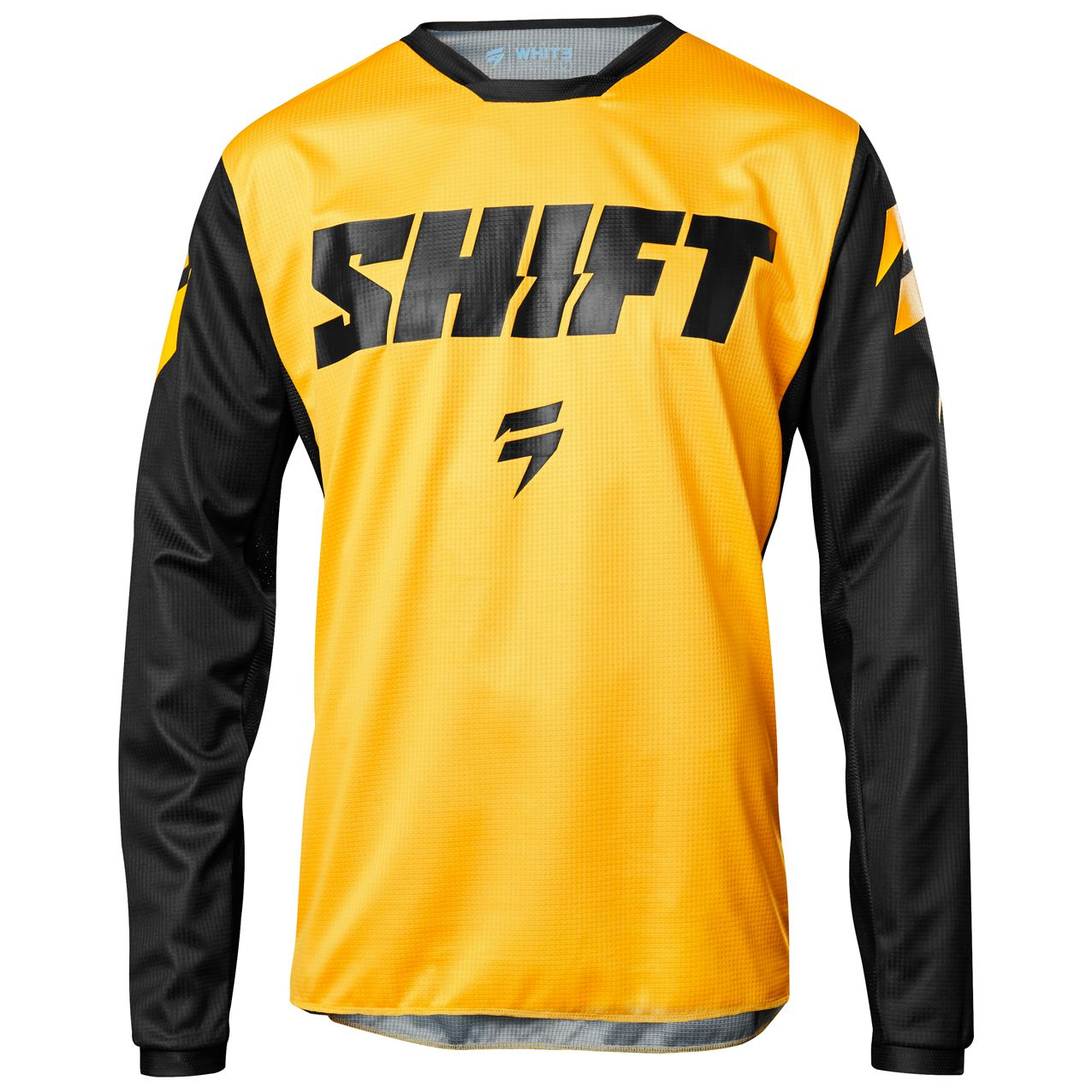 Maillot cross Shift WHIT3 LABEL NINETY SEVEN jaune youth 2018